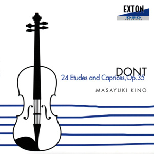 木野雅之 DONT 24 Etudes and Caprices Op.35